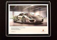 """Porsche Poster """"918 Spyder Studie"""""""