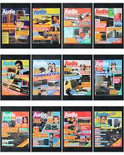 12 x Zeitschrift Audio 1988 HiFi Magazin / Kompletter Jahrgang