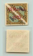 Estonia 1923 SC C6 used signed . f3278