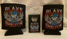 BLAKE SHELTON - Freinds & Heroes Tour 2020 Coozies and Bottle Opener VIP Merch