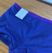 * Calvin Klein Seamless Size X-LARGE BOYSHORTS  BLUE/PURPLE QD3546-505