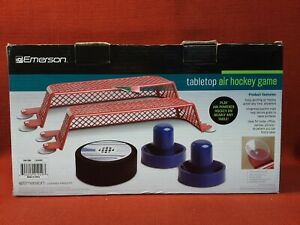Emerson Tabletop AIR HOCKEY GAME 5 pcs Battery Operated