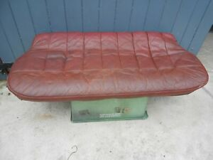 MORRIS MINOR LEATHER REAR SEAT BASE EARLY CARS