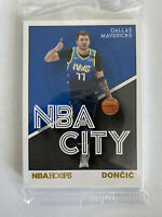 RARE Luka Doncic SGA Alternate Mavs NBA City Sealed Panini 2019-20 Pack #DAL1