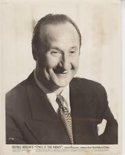 """George Tobias """"This Is The Army"""" 1943 Original Promotional Photo"""