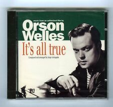ORSON WELLES CD OST (NEW) IT'S ALL TRUE ( unfinished film) JORGE ARRIAGADA