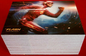 THE FLASH - Season 1 - COMPLETE BASE SET (72 cards) - Cryptozoic 2016