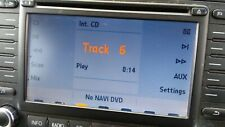 VW TOURAN PASSAT B6 SAT NAV CD RADIO HEAD UNIT 1K0035198B
