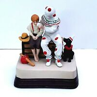 "Vintage 1985 Norman Rockwell ""The Runaway"" Music Box Figurine   Excellent"