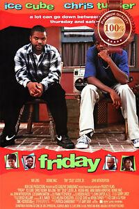 FRIDAY ICE CUBE 1995 ORIGINAL OFFICIAL MOVIE FILM HOME PRINT PREMIUM POSTER