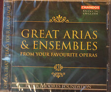 Rare Chandos Great Arias and Ensembles 17 Tracks CD Sealed 72 mins 2005 Sealed