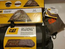 Lot of Caterpillar/Realtree Camping/Hunting/Tent hammock/sleeping Bag MSRP $420.