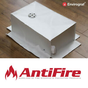 Envirograf Fire Protection Covers for Recessed Light Fittings - 1 Hour Rated