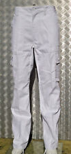 White Military Style Combat Cargo / Utility / Field Trousers - All Sizes - NEW