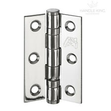 Internal Polished Stainless Steel Double Ball Bearing Hinge Pairs (2) 3 Inches