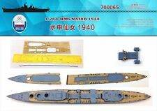 Shipyard 700065 1/700 Wood Deck HMS Cruiser Naiad 1940 for Flyhawk