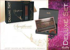 "KnitPro Set austauschbare Nadelspitzen Rundstricknadel ""SYMFONIE"" Deluxe Holz"