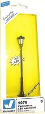 Parklaterne LED warmweiss 88mm hoch Viessmann 9070 SPUR 0 NEU OVP HG4  µ