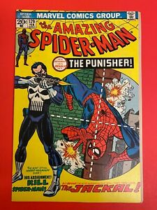 The Amazing Spider-Man #129 VF/NM Unrestored First Appearance of The Punisher