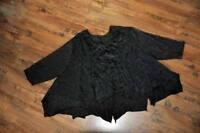 MYO-Lagenlook kurzes-Crash-Jersey-14- Zipfel-Tunika-Shirt khaki°44,46,48,50,52