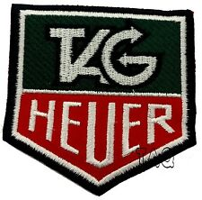 TAG HEUER MOTORSPORTS RACING BIKER EMBROIDERED Iron/Sew on Patch/ Badge Logo 212
