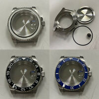 40mm Sapphire Glass Stainless Steel Watch Case For NH35 NH36 Mechanical Movement