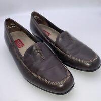 Munro American Women's Brown Loafer Heel M181021 Shoe Size 7W