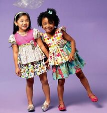 McCall Patterns M6688 Girls Tops and Skirt Sewing Template, Size CDD (2-3-4-5)