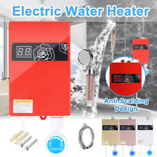 3000W 220V Mini Instant Electric Tankless Hot Water Heater Shower Kitchen