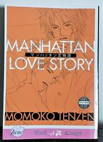 Manhattan Love Story by Momoko Tenzen | English Yaoi Manga | June 2009