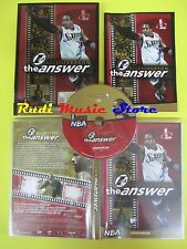 DVD basket ALLEN IVERSON THE ANSWER La gazzetta dello sport I LOVE NBA no (D4)