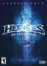 Heroes Of The Storm Starter Pack PC Games Windows 10 8 7 XP Computer NEW