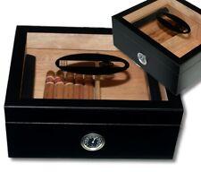 Kristallglas Klavierlack Black Humidor Cigar V-440, statt: 67,00 €