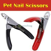 SN9F Pet Dog Cat Nail Toe Claw Clippers Scissors Trimmer Cutter Grooming Tool