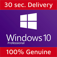 Windows 10 Professional Pro 32/64 Bits Authentic Product Key License