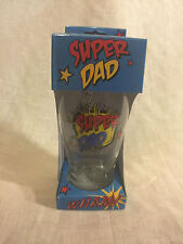 'SUPER DAD' Beer Glass