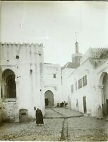 MAGHREB Maroc Algérie Tunisie, Photo Stereo Vintage Plaque Verre ABIMÉ VR8L3