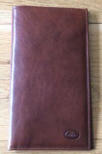 The Bridge Leather Travel Wallet