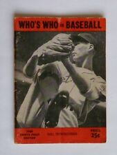 Who's Who In Baseball 1946 Thirty-First Edition Hal Newhouser