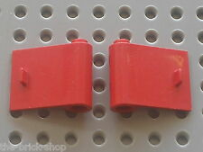 Portes LEGO VINTAGE red  doors 3188 & 3189 /Set 180 8155 8153 4563 374 347 658..
