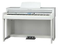 88 Tasten Digital E-Piano Klavier Keyboard 3 Pedale 1200 Sound Bluetooth weiß