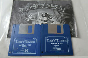 Traps 'n' Treasures A Krisalis Game for the Amiga Computer tested & working