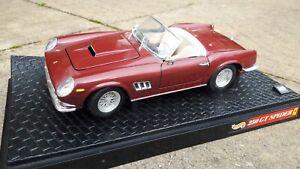 1:18 Ferrari 250 GT California Spider in Red c/w Box