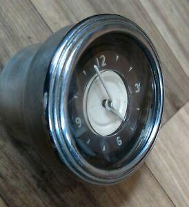 1941 Lincoln Zephyr Clock. Excellent condition! Rare!
