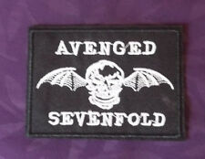 AVENGED SEVENFOLD PATCH WAKING THE FALLEN EMBROIDERED HEAVY METAL PUNK DIY