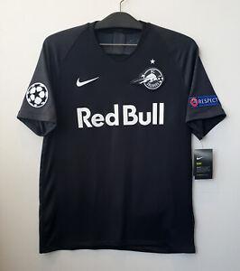 2019-20 FC Red Bull Salzburg CL Away S/S No.30 HAALAND Shirt Jersey Trikot UEFA