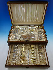 Nuremberg by Gorham Sterling Silver Flatware Set Service 55 pcs Figural c1880s