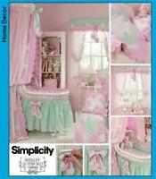 2007 Baby Nursery Sewing Pattern Simplicity 3729 OOP