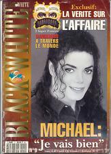 """Black & White"" #9 - Michael Jackson official fan magazine"