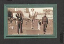 Nostalgia Postcard 80 metres Hurdles-Ceremony Grethe Whitehead Budapest 1936